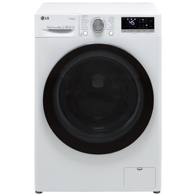 LG V7 F4V709WTS Wifi Connected 9Kg Washing Machine with 1400 rpm - White - A+++ Rated - F4V709WTS_WH - 1
