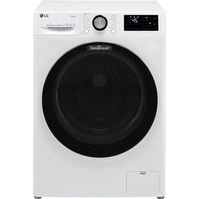 LG V9 F4V909WTS Wifi Connected 9Kg Washing Machine with 1400 rpm - White - A+++ Rated