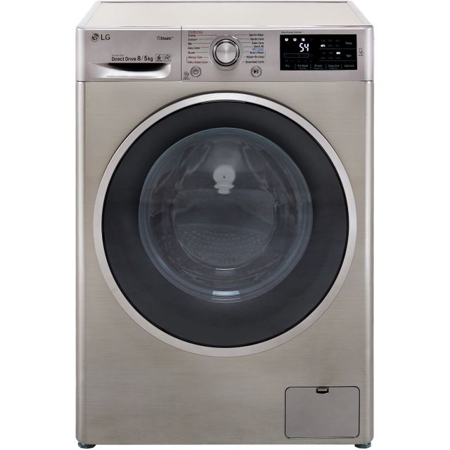 LG J6 FWJ685SS 8Kg / 5Kg Washer Dryer with 1400 rpm - Graphite - A Rated - FWJ685SS_GH - 1