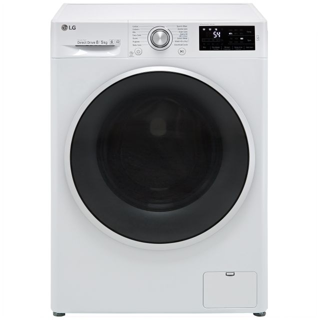 LG J6 FWJ685WN 8Kg / 5Kg Washer Dryer with 1400 rpm - White