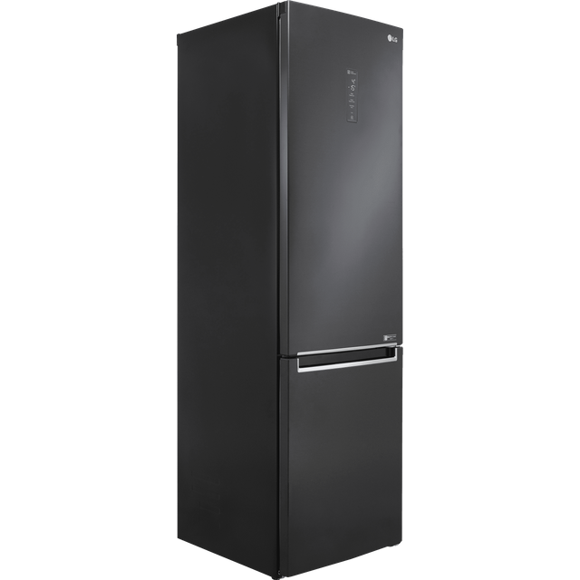LG GBB72MCUFN 70/30 Frost Free Fridge Freezer - Matte Black - A+++ Rated