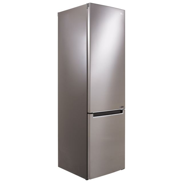 LG GBB72PZEFN 60/40 Frost Free Fridge Freezer - Steel - A+++ Rated - GBB72PZEFN_ST - 1