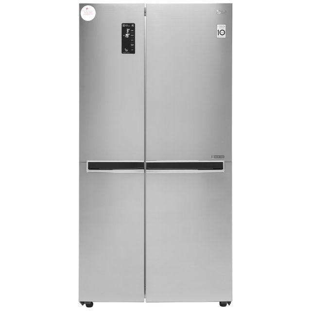 LG GSB760PZXV American Fridge Freezer - Stainless Steel - A+ Rated - GSB760PZXV_SS - 1