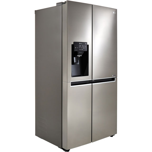 LG Door-in-Door™ GSJ761PZXV American Fridge Freezer - Stainless Steel - A+ Rated Best Price, Cheapest Prices