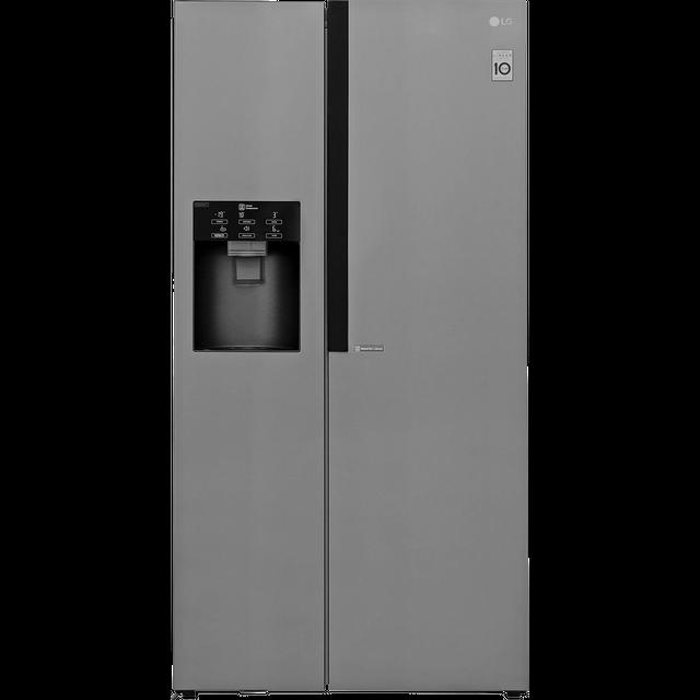 LG GSL560PZXV American Fridge Freezer - Stainless Steel