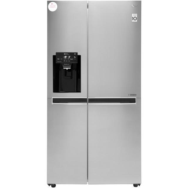 LG GSL760PZXV American Style Fridge Freezer - Shiny Steel