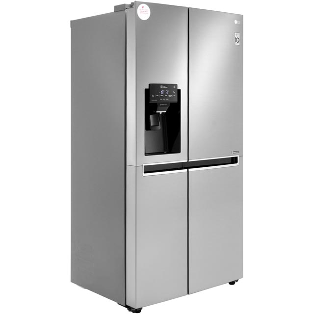 LG GSL760PZXV American Fridge Freezer - Stainless Steel - GSL760PZXV_SS - 2