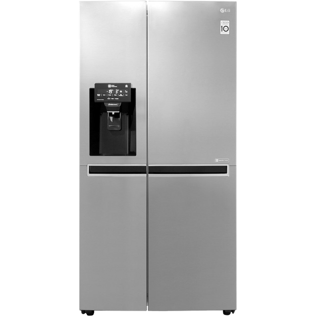 LG GSL761PZXV American Style Fridge Freezer - Shiny Steel