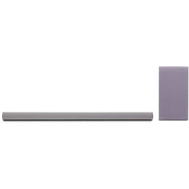 LG SH5 Multiroom Bluetooth Soundbar with Wireless Subwoofer - Silver