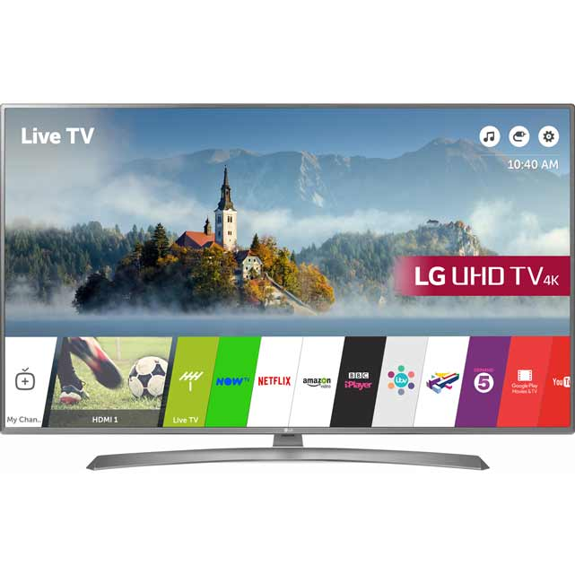 LG 65UJ670V Led Tv in Grey