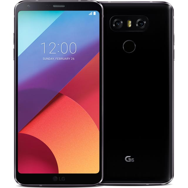 LG Mobile LG G6 Series LGH870.AGBRBK Mobile Phone in Black