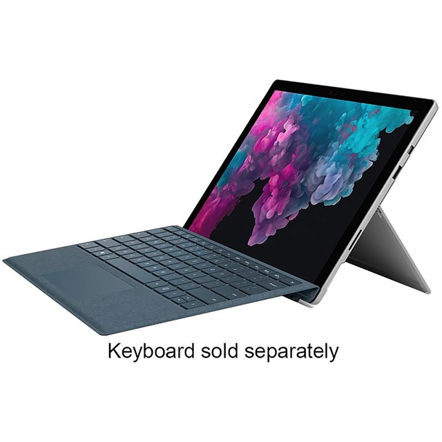 "Microsoft Surface Pro 12.3"" 2-in-1 Laptop 2018 - Silver - LGN-00002 - 1"