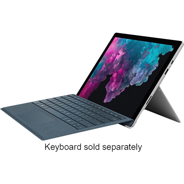 "Microsoft Surface Pro 12.3"" 2-in-1 Laptop [2018] - Silver - LGN-00002 - 1"