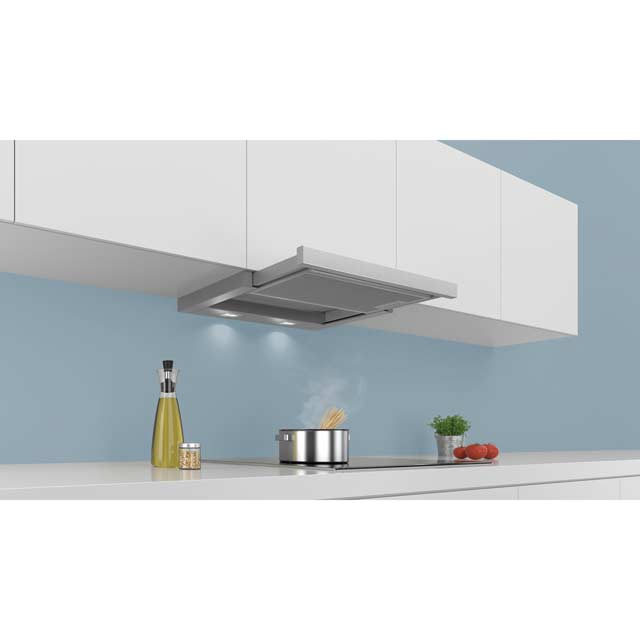 Siemens IQ-300 LI64MA530B Built In Integrated Cooker Hood - Silver - LI64MA530B_MT - 4
