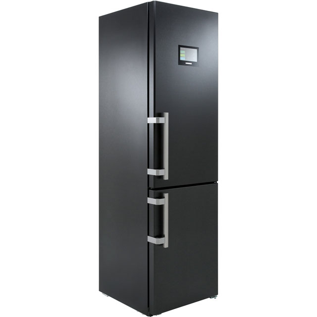 Liebherr CBNPbs4858 60/40 Frost Free Fridge Freezer - Black - A+++ Rated - CBNPbs4858_BK - 1