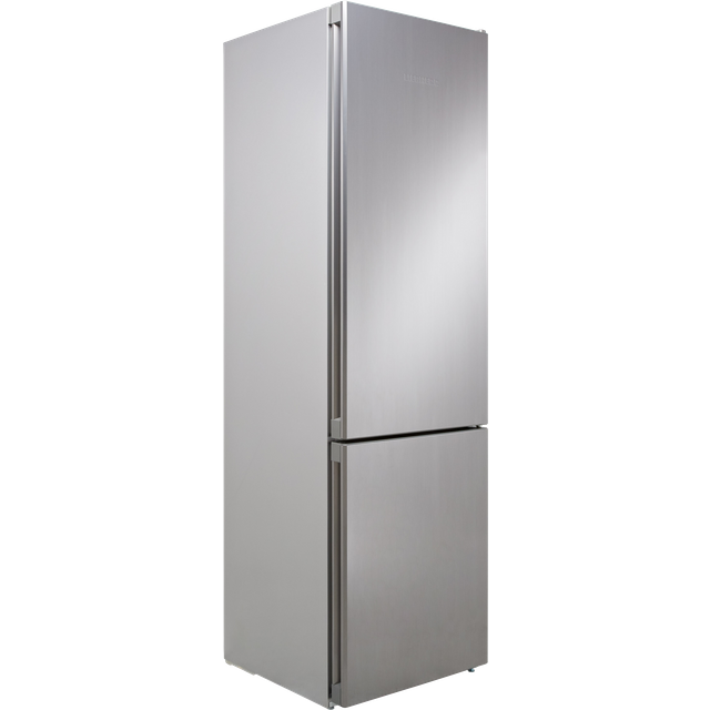 Image of Liebherr CNel4813 60/40 Frost Free Fridge Freezer - Stainless Steel Effect - A++ Rated