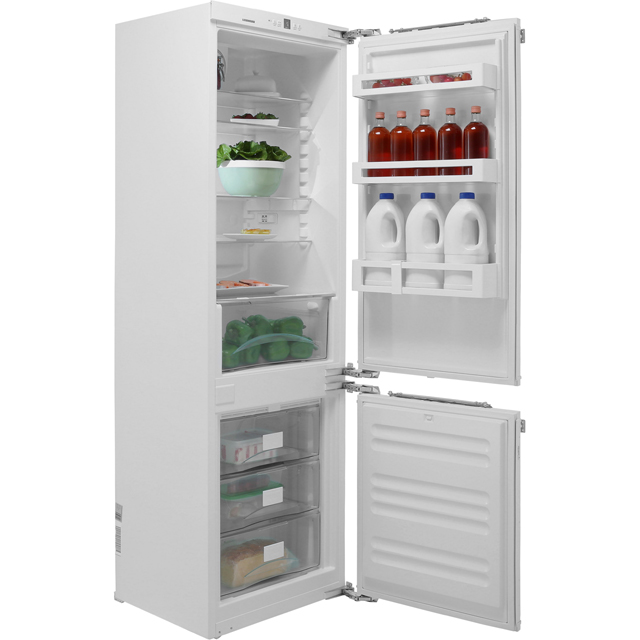 Liebherr Integrated 60/40 Frost Free Fridge Freezer with Fixed Door Fixing Kit - White - A++ Rated
