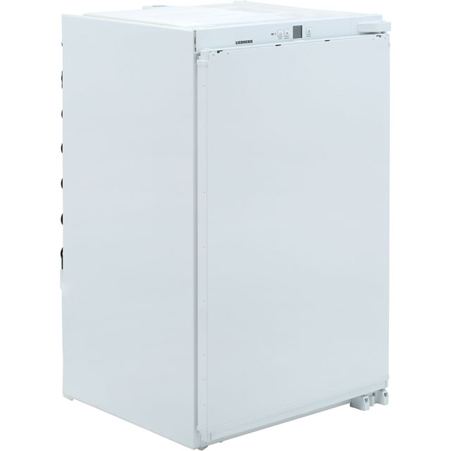 Liebherr IKS1624 Built-in 134 litre Comfort Fridge White with BioCool-Box GlassLine Interior and Automatic SuperCool Function, Reversible Door with Sliding System, 54cm Width