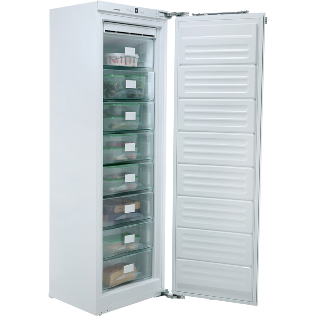 Liebherr SIGN3524 Integrated Frost Free Upright Freezer with Fixed Door Fixing Kit - A++ Rated - SIGN3524_WH - 1