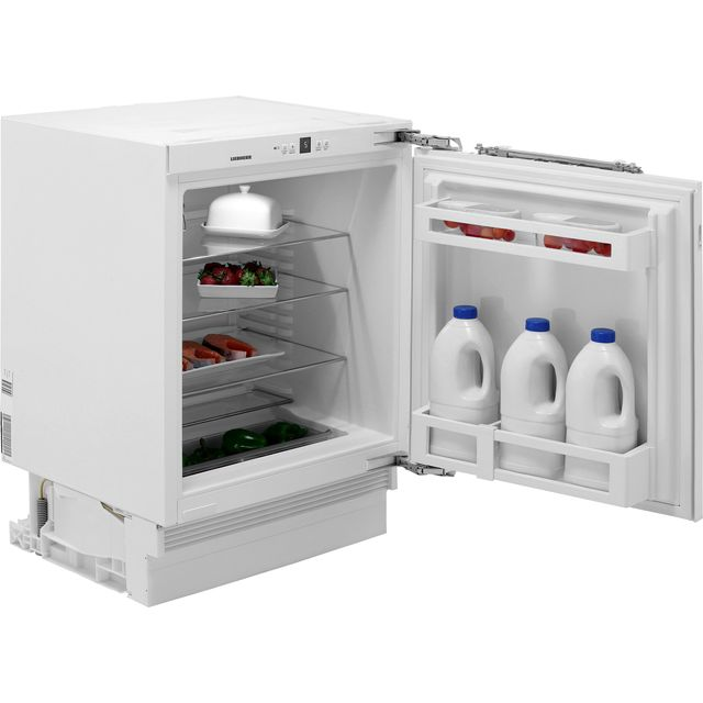 Liebherr UIK1510 Integrated Under Counter Fridge - Fixed Door Fixing Kit - White - A++ Rated - UIK1510_WH - 1