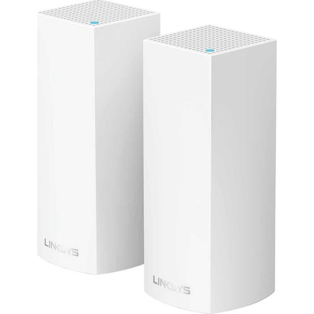 Linksys Velop Whole Home Mesh System - Pack Of 2 WHW0302-UK Routers & Networking in White