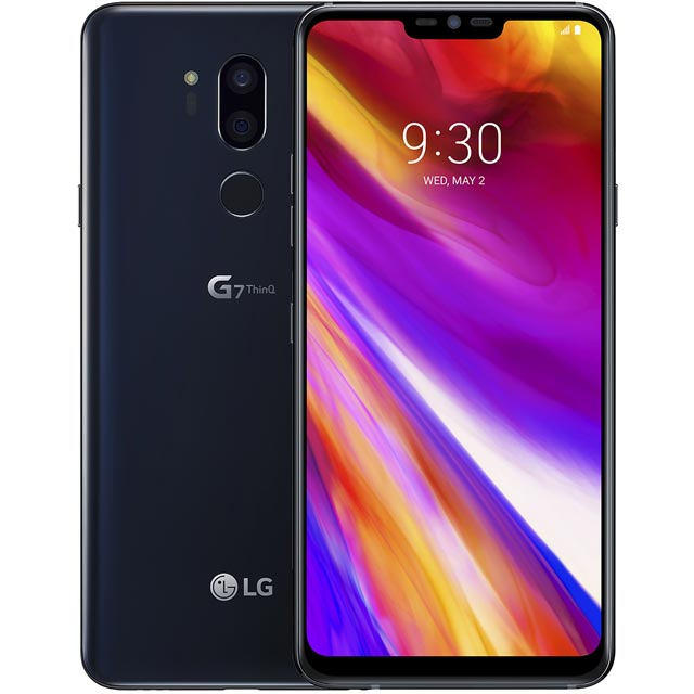 LG Mobile LMG710EM.AGBRBK Mobile Phone in Black