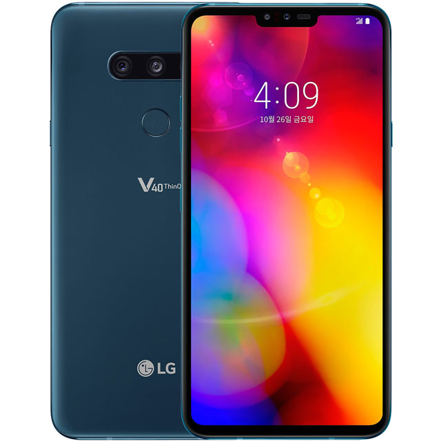 LG Mobile LMV405EBW.AGBRWU Mobile Phone in Moroccan Blue