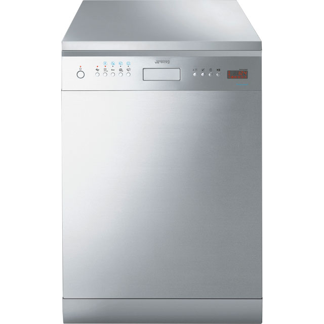 Smeg Commercial Semi-Professional LP364XS Free Standing Commercial Dishwashers Full Size in Stainless Steel