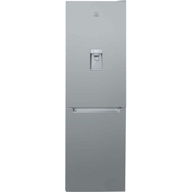 Indesit LR8S1SAQ.1 60/40 Fridge Freezer - Silver - A+ Rated