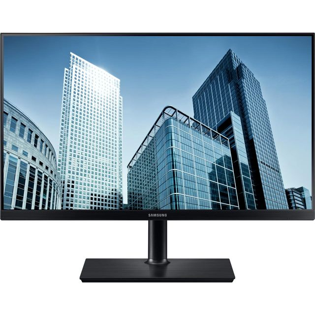 "Samsung WQHD 24"" 60Hz Monitor - Black"