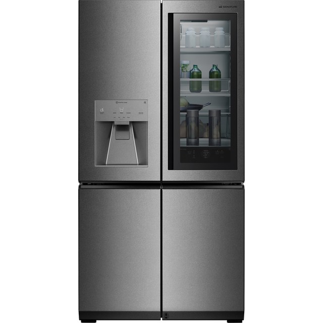 LG SIGNATURE InstaView Door-in-Door™ LSR100 Wifi Connected American Fridge Freezer - Stainless Steel - A++ Rated