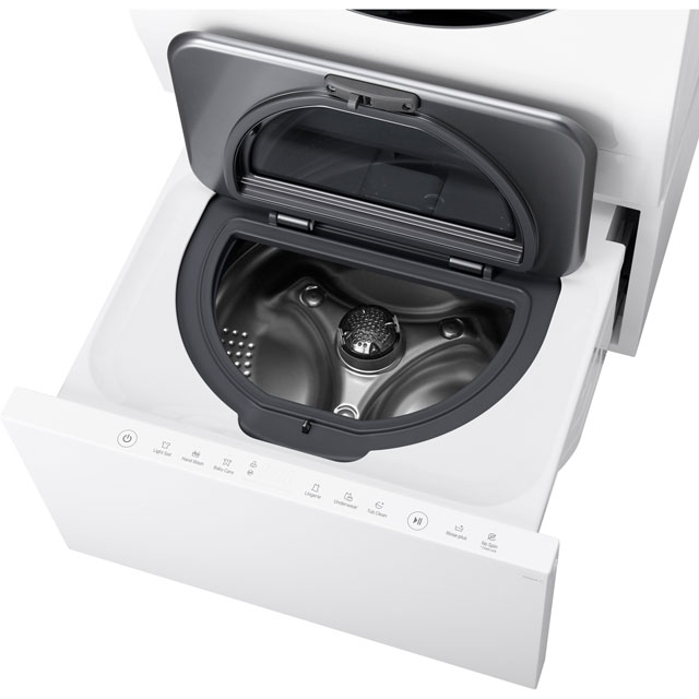LG Signature TwinWash™ LST100 2Kg Washing Machine - White - LST100_WH - 1