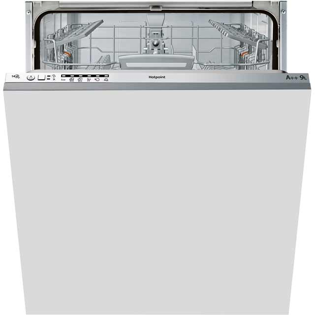 Hotpoint LTB6M126 Fully Integrated Standard Dishwasher - Graphite Control Panel with Fixed Door Fixing Kit - A++ Rated - LTB6M126_GH - 1