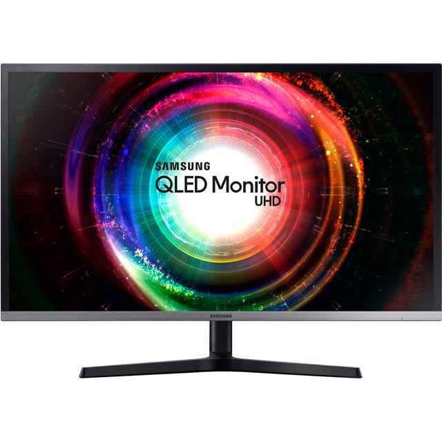 "Samsung UH850 Ultra HD 32"" 60Hz Monitor - Black"