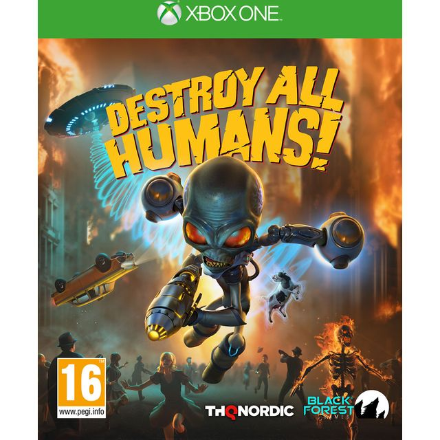 Destroy All Humans! for Xbox One [Enhanced for Xbox One X]