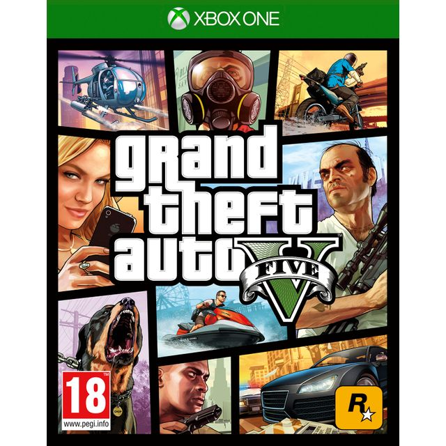 GTA V for Xbox One [Enhanced for Xbox One X]
