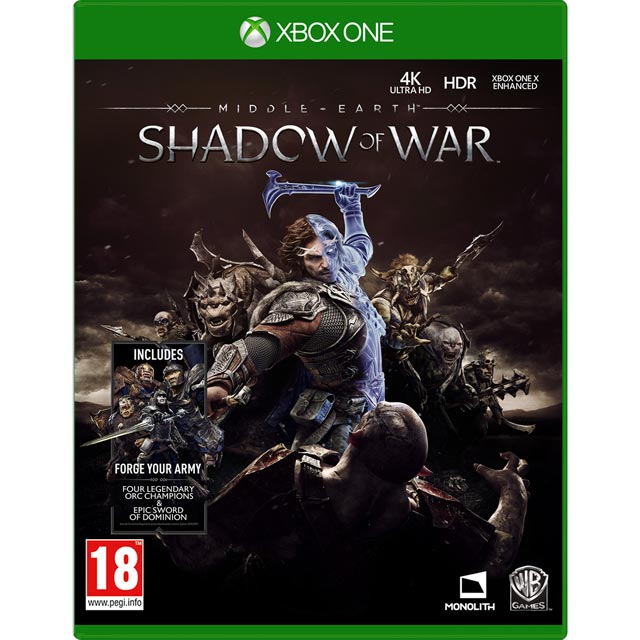 Middle Earth: Shadow of War for Xbox One - M1READWAR20695 - 1
