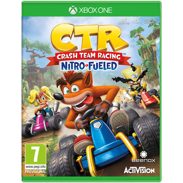 Crash Team Racing Nitro-Fueled for Xbox One - M1REARACT26964 - 1