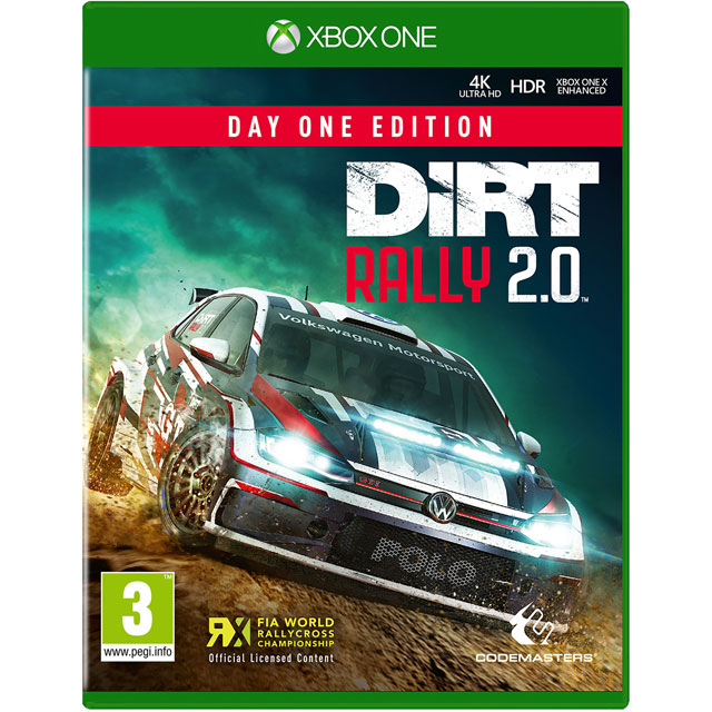 DiRT Rally 2.0 for Xbox One [Enhanced for Xbox One X]