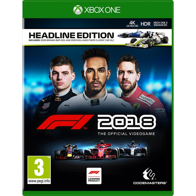 F1 2018 Headline Edition for Xbox One
