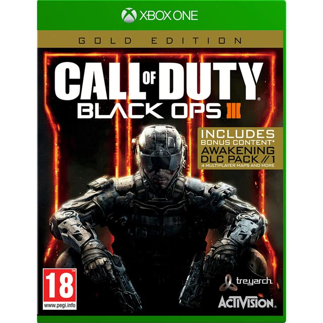 Call Of Duty Black OPS 3 Gold for Xbox One - M1REFPACT21673 - 1