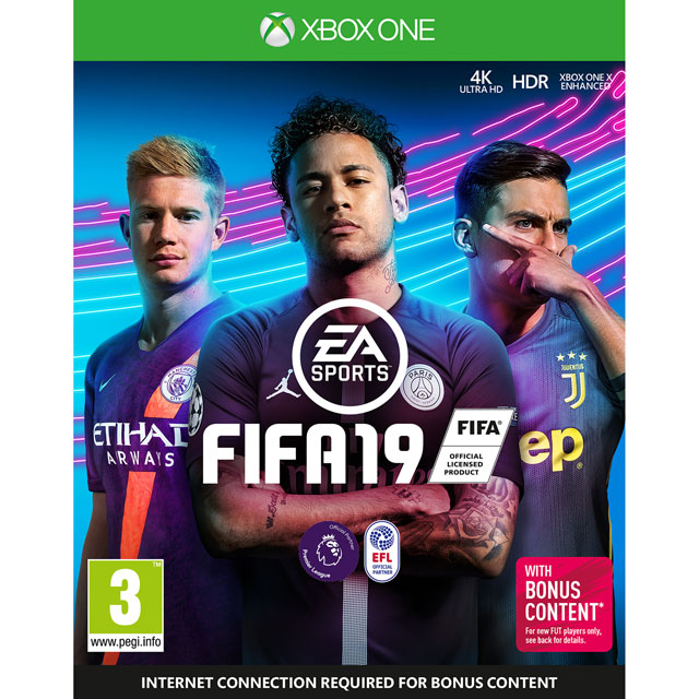 FIFA 19 for Xbox One [Enhanced for Xbox One X] - M1RESSELE12192 - 1