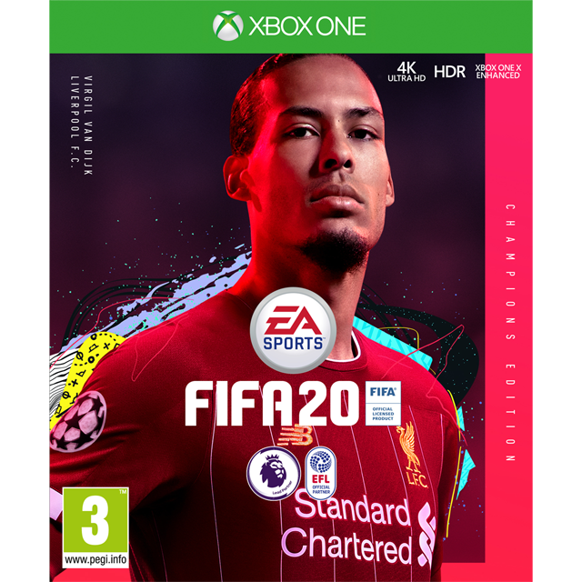 FIFA 20 Champions Edition for Xbox One [Enhanced for Xbox One X]