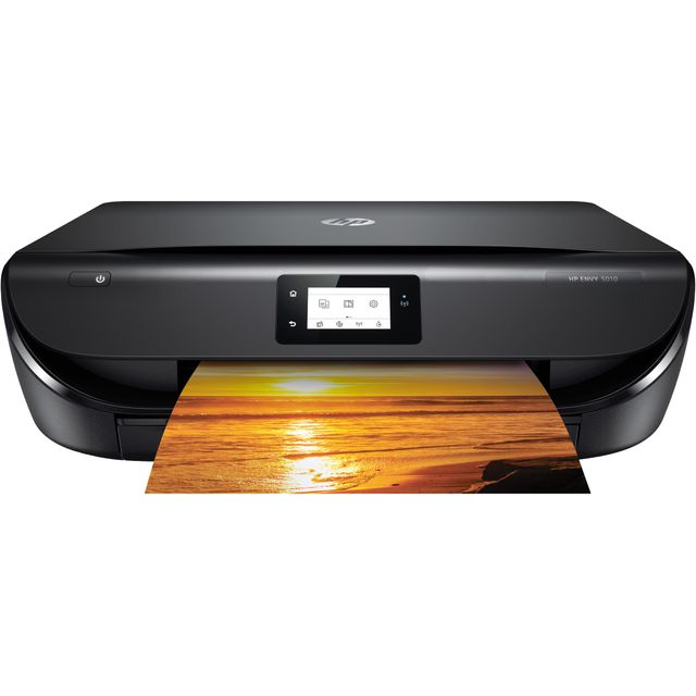 HP Envy 5010 Inkjet Printer - Black - M2U85B#BHC - 1