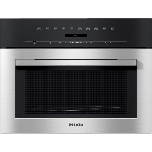 Miele M7140TC Built In Microwave - Clean Steel - M7140TC_CS - 1
