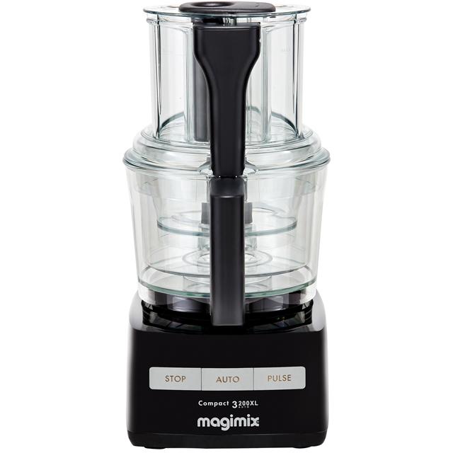 Magimix 3200XL 18363 2.6 Litre Food Processor With 12 Accessories - Black