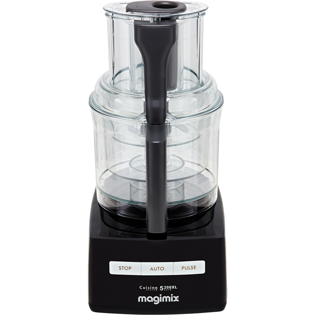 Magimix 5200XL Premium 18702 3.6 Litre Food Processor With 12 Accessories - Black