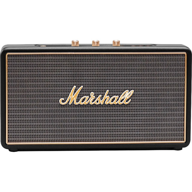 Marshall Stockwell Portable Bluetooth Wireless Speaker - Black