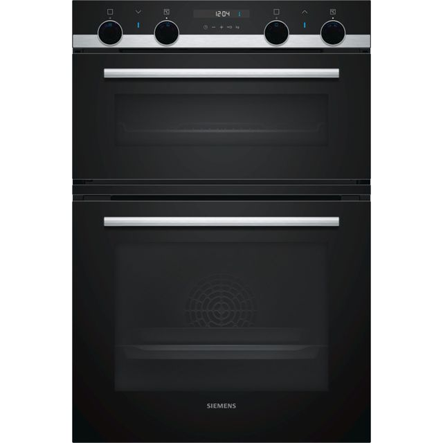Siemens IQ-500 MB557G5S0B Built In Double Oven - Stainless Steel - A/B Rated - MB557G5S0B_SS - 1