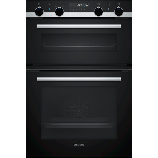 Siemens IQ-500 MB578G5S0B Built In Double Oven - Stainless Steel - A/B Rated - MB578G5S0B_SS - 1